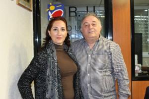 Pepi Mantas y Ramón Perez